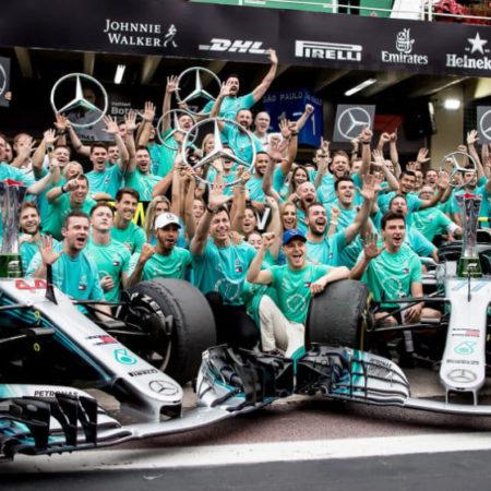 Стратегия на результаты отдельной команды в Формуле-1