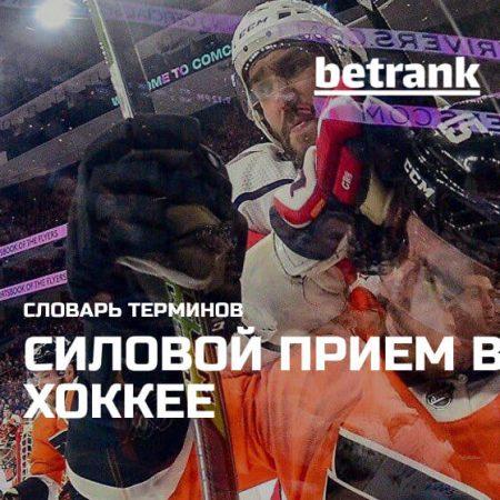 Что такое силовой прием в хоккее?